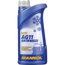 Антифриз Mannol AG 11 1кг (голубой)..