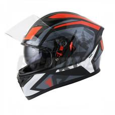Шлем (интеграл) Ataki JK316 Route серый/..