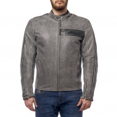 Куртка MOTEQ DEFENDER кожа Серый, XL..