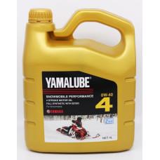 Yamalube 4T 0w-40 снегоход. синтетик. 4L..