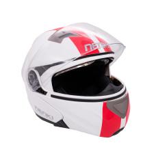 Шлем (модуляр) Nenki FF815 белкрасн L..