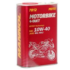 Mannol Motorbike 4T 10w-40 синтетич. 1L..