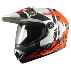 Шлем Origine Gladiatore (BT) Dakar оранж..