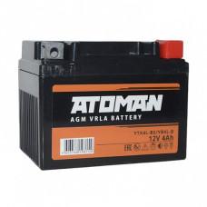 АКБ ATOMAN AGM 1204 YB4L-B, YTX4L-BS (11..