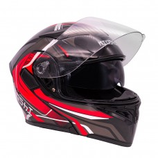 Шлем (модуляр) KIOSHI Tourist 902 красны..