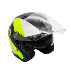 Шлем (открытый со стеклом) KIOSHI 526 че..