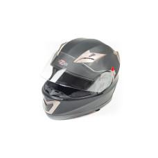 Шлем (интеграл) HIZER 529 черный матовый..