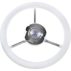 Рулевое колесо LIPARI обод белый, спицы ..