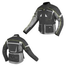 Куртка (текстиль) HIZER AT-5000 серая (L..