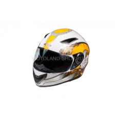Шлем (интеграл) HIZER 526 (L) #2 белыйже..