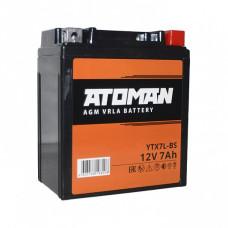 АКБ ATOMAN AGM 1207 YTX7L-BS (113 х 70 х..