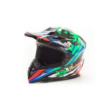 Шлем подростковый (кроссовый) HIZER 211 ..