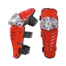 Защита колена HIZER AT-3572 (L) красный..