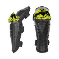 Защита колена HIZER AT-3577 (L) чернзеле..