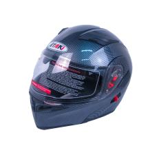 Шлем (модуляр) Ataki FF902 Carbon черный..