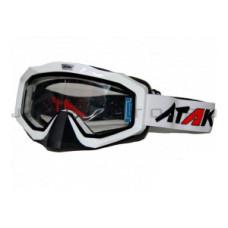 Очки ATAKI HB-811 белые двойное стекло..
