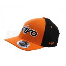 Бейсболка KAYO оранжевая/черная..