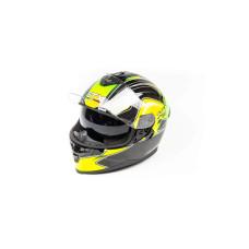 Шлем (интеграл) GTX 5672 (M) #3 BLACK/FL..