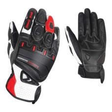 Перчатки (кожа) HIZER AT-4136 (L) черн/б..