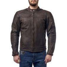 Куртка MOTEQ Bro кожа Коричневый, S..
