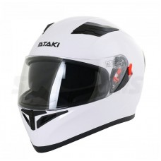 Шлем (интеграл) Ataki JK316 Solid (белый..